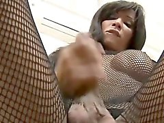 Good pretty tranny works with her lips