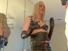 Ashtray slave of mistress DessimA (MissDess)