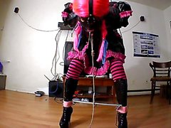 Sissy Maid Self Bondage