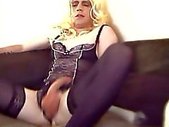 Eva no hands cum
