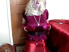 Satin Tranny Cumpilation