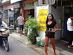 Ladyboy A slow walk to the beach