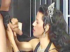 Horny Crossdressers In Hot Foursome