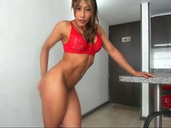 Big Cock Asian Tranny Masturbation