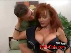 Mature Vanessa blowjob blow job , cum cumshot cum shot facial swallow, heels stocking busty bigb