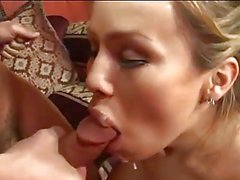 hot tranny swallows jizz