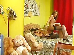 Shemale Society Girls 02 - Scene 1