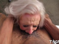 Crazy ladyboy whore gets a-hole fondled and butthole plowed