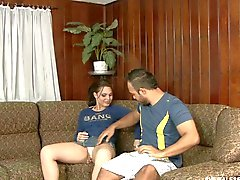 Stud Analed By A Cute Tranny