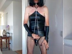 Cum job playing with chains