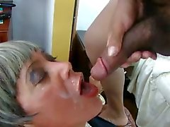 Horny mature CD drilled
