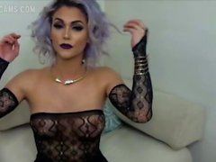 Domino Presley Sexy Camshow - ShemaleDreamCams