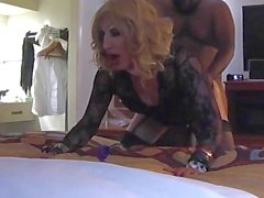 Hot sissy slut geting bbc